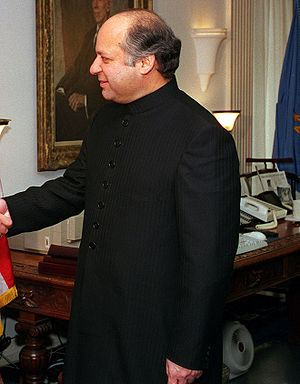 Nawaz Sharif, Prime Minister of Pakistan