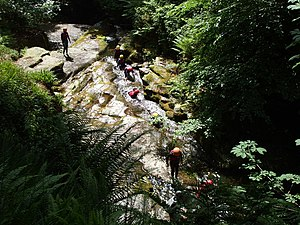 English: Outdoor activities - Ballaglass Glen