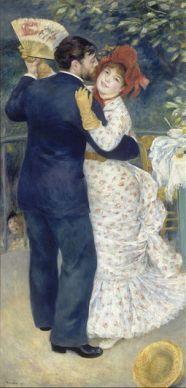 Pierre Auguste Renoir - Country Dance