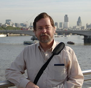 PZ Myers in London.