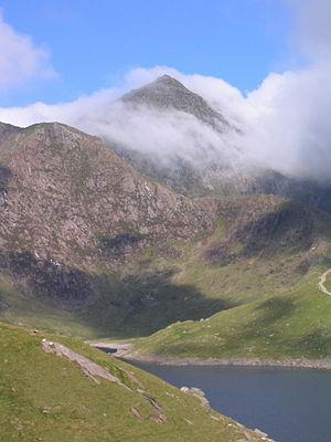 Snowdon (Yr Wyddfa), Gwynedd is the highest mo...