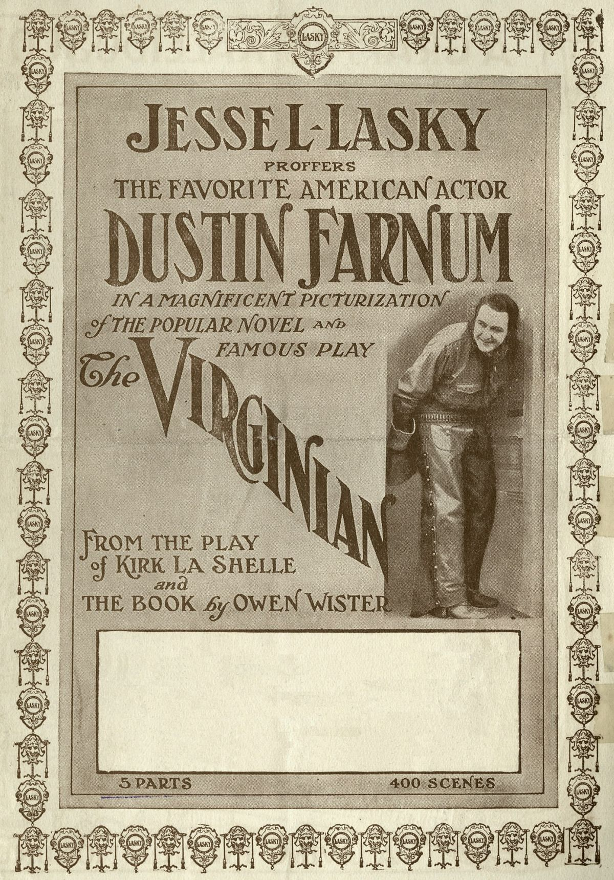 The Virginian 1914 Film Wikipedia