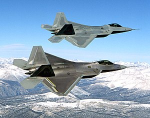 The F-22 is an air-superiority fighter with im...