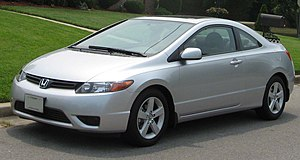 2006-2007 Honda Civic photographed in USA.