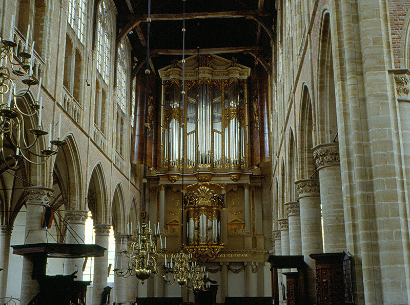 organo Schnitger della Sint-Laurenskerk in Alkmaar