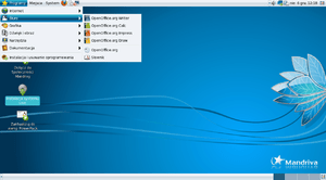 Desktop Mandriva Linux One Gnome 2010