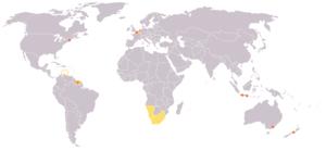 Legend: Dark Orange: native language Orange: a...