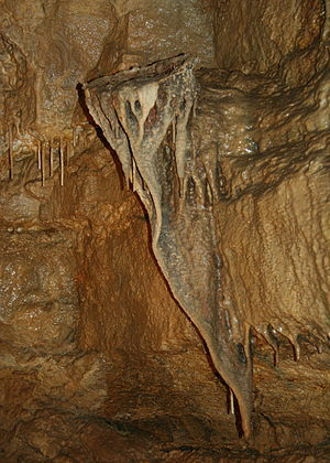 "A cave formation popularly called the ""bi..."