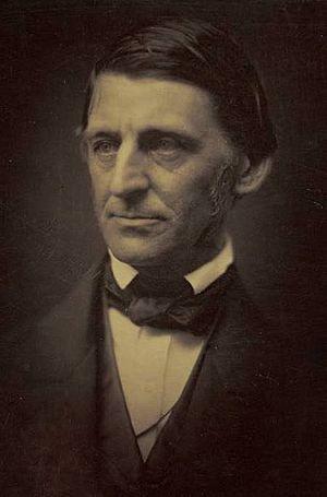 Ralph Waldo Emerson, ca. 1857