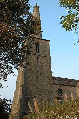 English: Stoke Edith Church. St Mary the Virgi...
