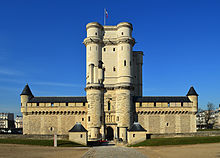 the keep of chateau de vincennes which housed gamelin s staff