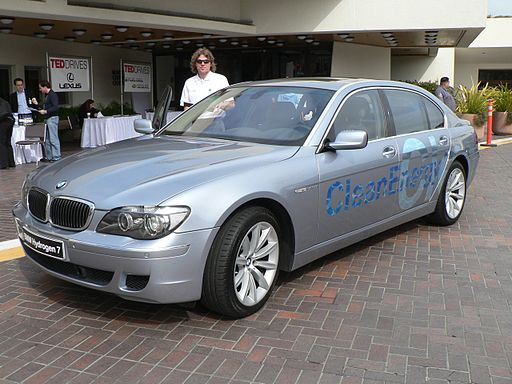 BMW Hydrogen 7 at TED 2007