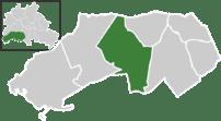 Location of Zehlendorf