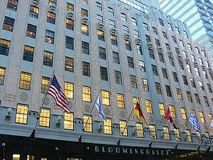 Stammhaus Bloomingdale's in New York City