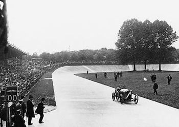 Georges Boillot winning the 1912 French Grand ...