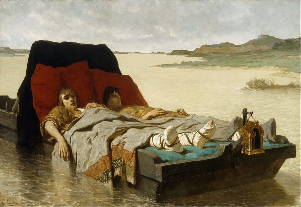 Évariste Vital Luminais - The sons of Clovis II - Google Art Project