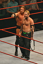 Jeff Hardy worked closely with Triple H during late 2007.