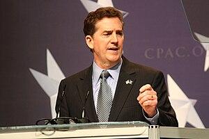 English: Senator speaking at CPAC in .