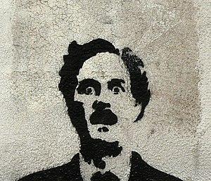Español: Versión recortada. Graffiti de John C...