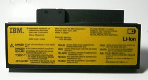 Lithium-ion_battery_IBM ThinkPad560