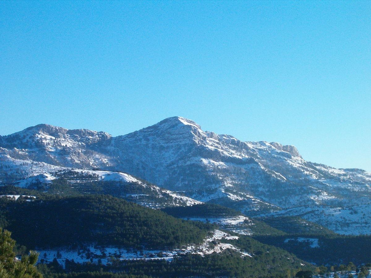 Pico Almenara Sierra De Alcaraz