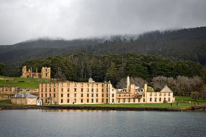 English: Penitentiary at Port Arthur, Tasmania.