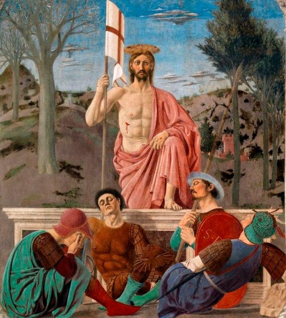 Zmartwychwstanie – Piero della Francesca