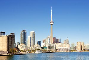 English: Toronto: Skyline Deutsch: Toronto: Sk...