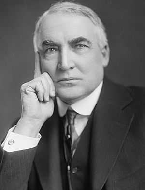 English: Warren G. Harding