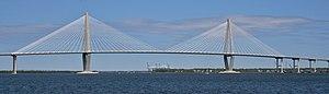 Picture of Arthur Ravenel Jr. Bridge in Charle...