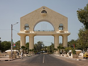Arch 22 in Banjul, The Gambia.