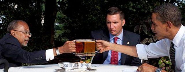 Beer summit cheers