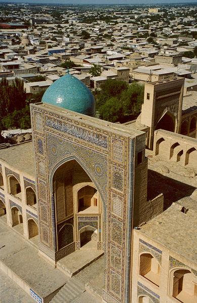 La madrasa Mir-i-Arab.