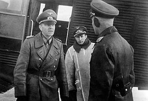 General Paulus in the southern Soviet Union