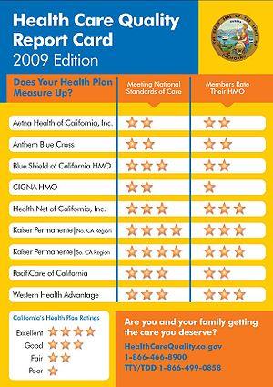 English: California OPA Health Care Quality Re...