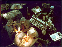 Early in a coronary artery bypass surgery duri...