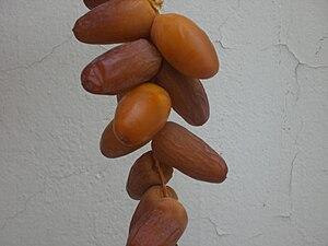 English: A branch of Hamraya, Tunisian dates ا...