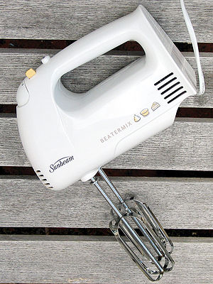 This is a hand-held electric beater (also know...