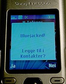 Bluejacking Wikipedia