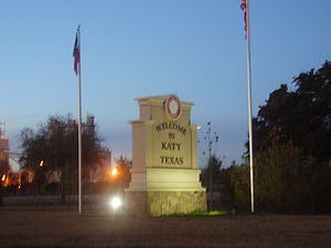 Sign of Katy, Texas
