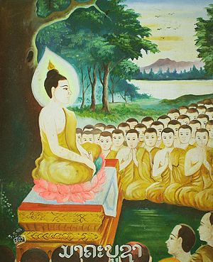 Painting of the spontaneous gathering of 1250 ...