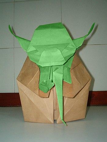 Master Yoda - origami.