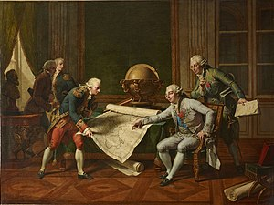"""Louis XVI gave France a powerful fleet, ..."