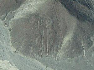 Nasca (Peru), Astronaut, August 2007