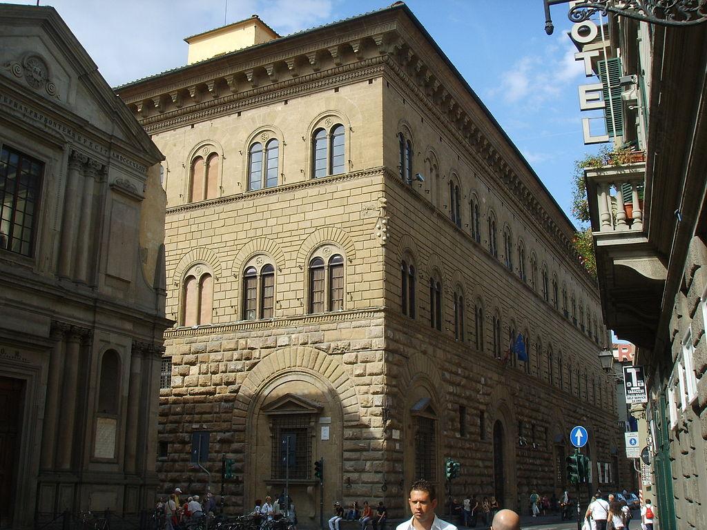 Facade Palazzo Medici Riccardi Florence