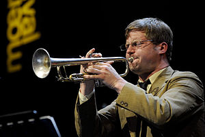 English: Peter Evans, moers festival 2009