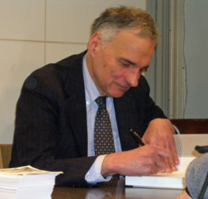 Ralph Nader signing books at Barnes & Noble Un...