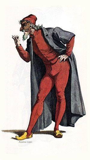 Pantalone year 1550