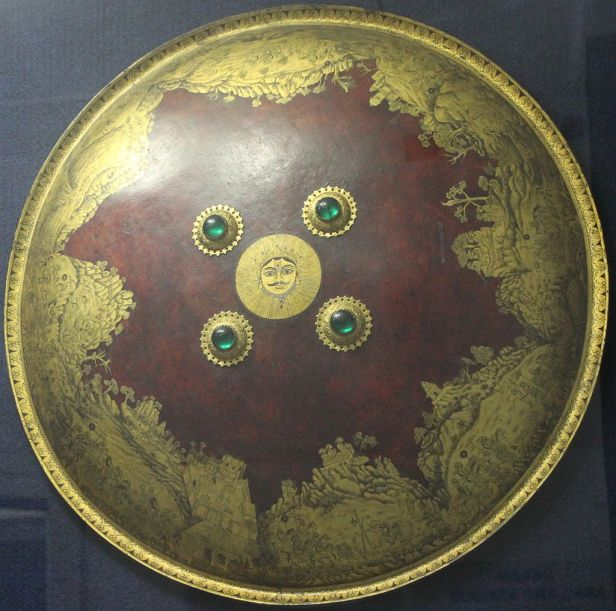 Shield of Maharana Sangram Singh, National Museum, New Delhi