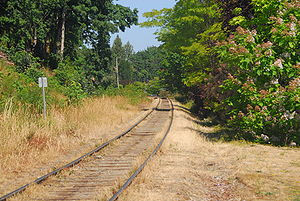 English: The Southern Railway of Vancouver Isl...